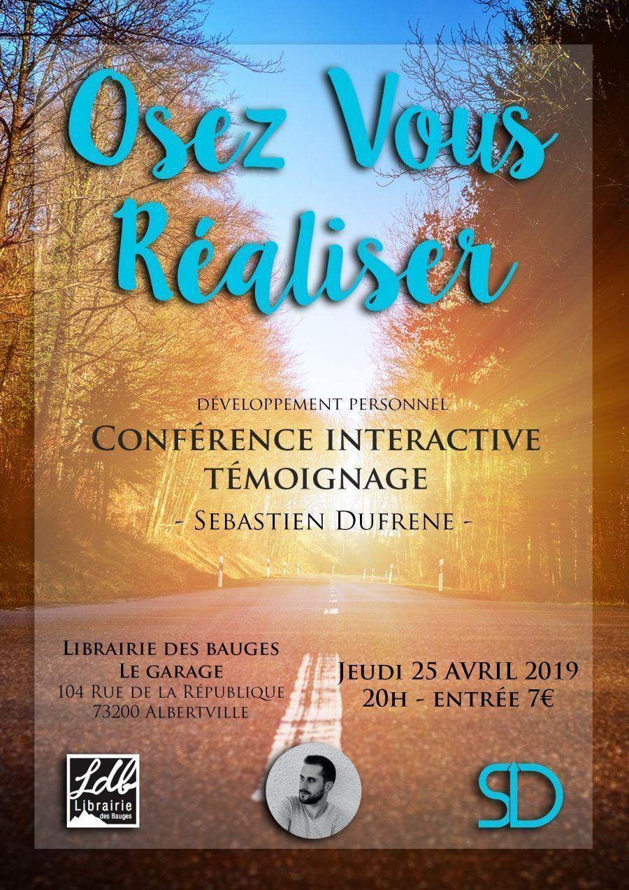 Conférence interactive sur le thème du développement personnel