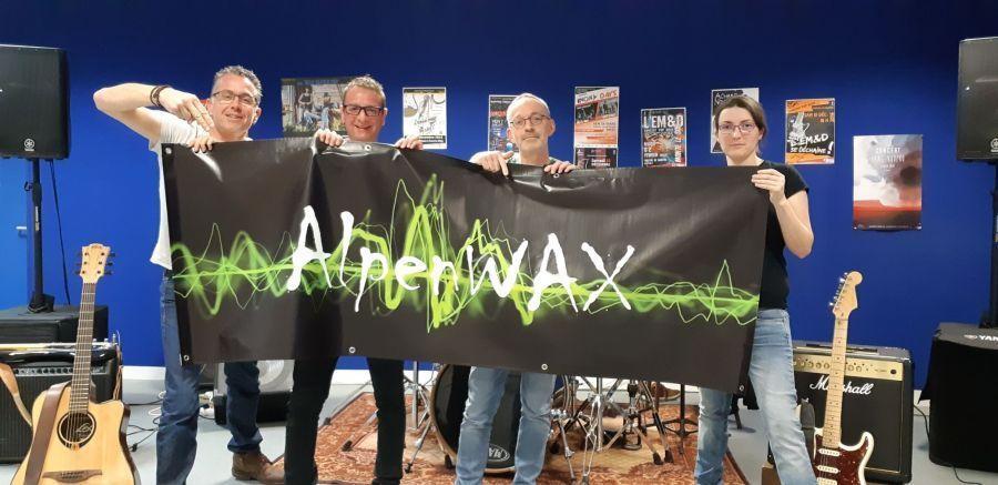 ALPEN WAX en concert