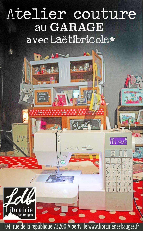 Atelier couture avec Laetibricole