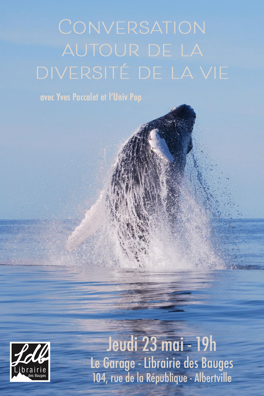 UnivPop : conversation autour de la biodiversité. Avec Yves Paccalet.