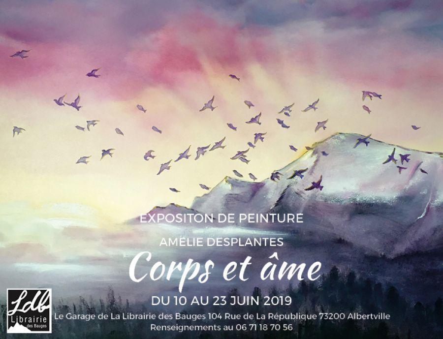 Exposition de peintures - Amélie Desplantes
