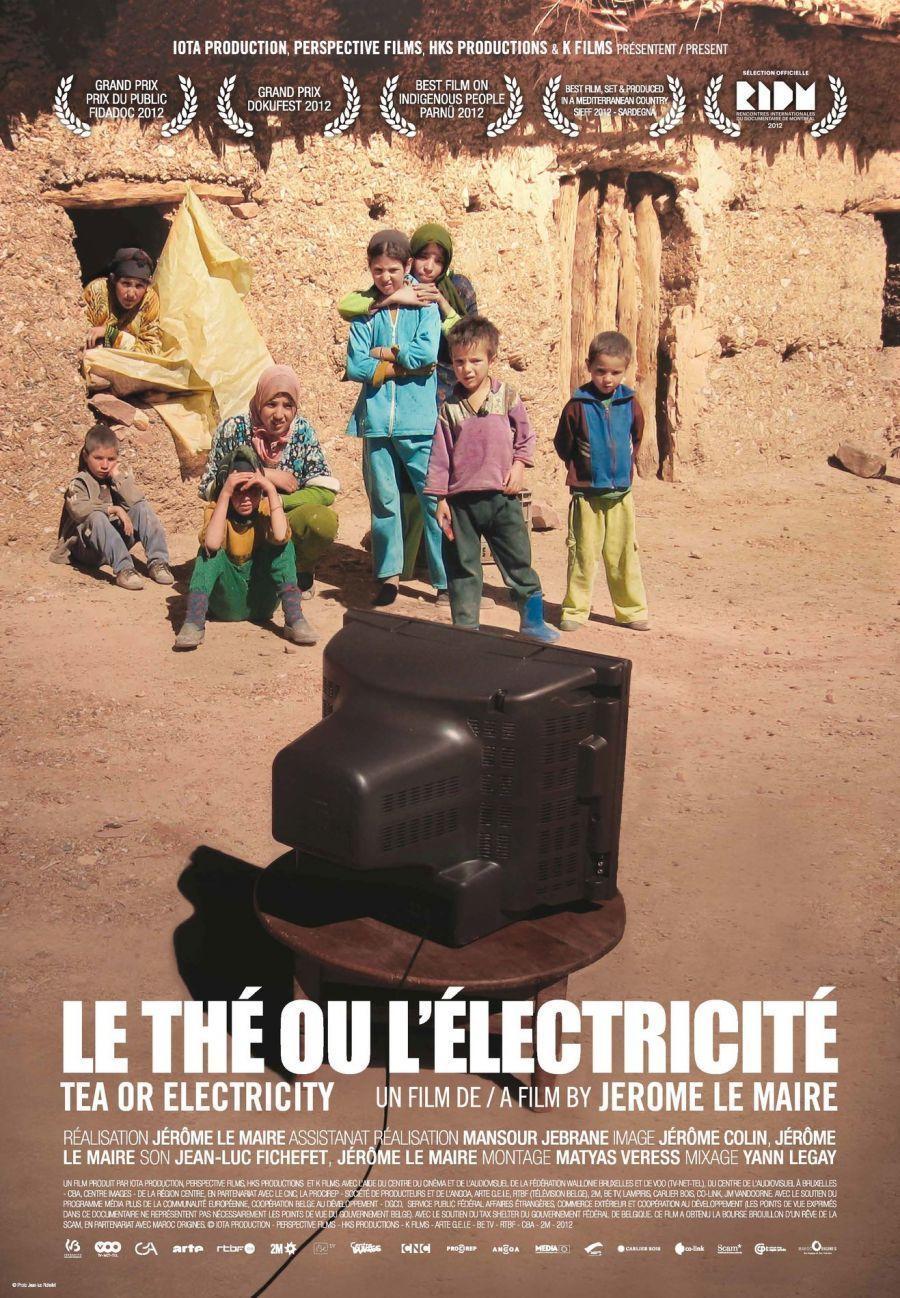 """Projection """"Le thé ou l'électricité"""" - Tournée du Grand Bivouac"""