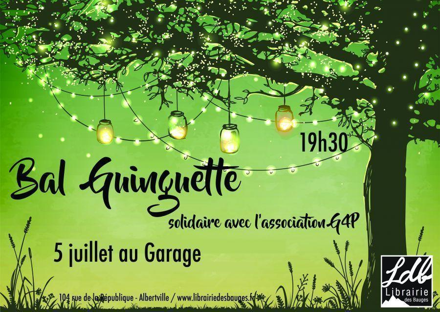 Bal Guinguette au Garage, en solidarité avec G4P