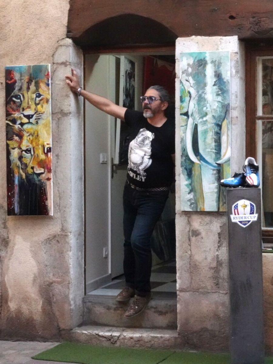 Exposition de peintures - André Marc Serrano