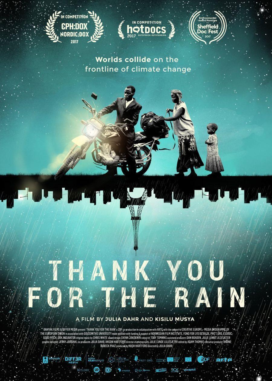 """Projection """"Merci pour la pluie"""" - Tournée du Grand Bivouac"""