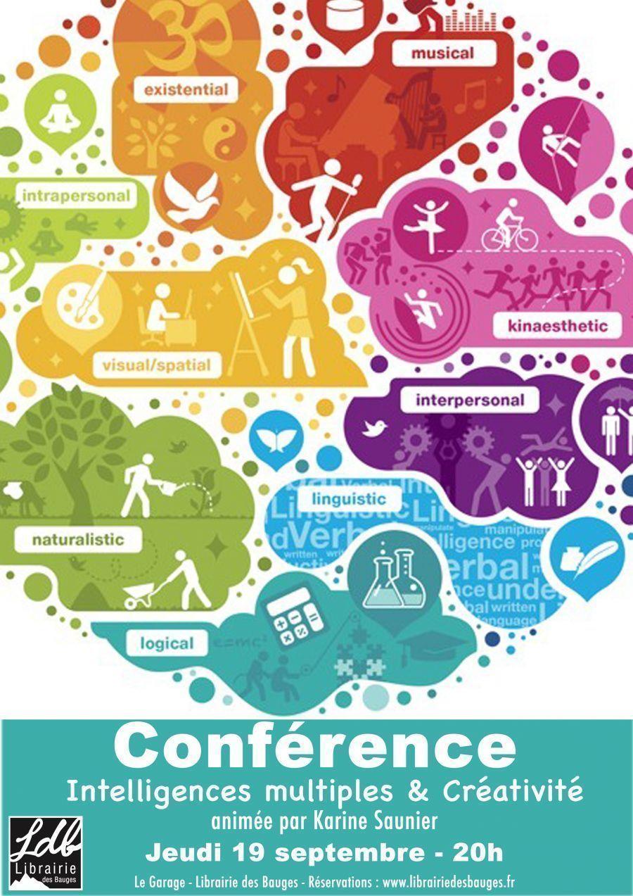 Conférence Karine Saunier: les intelligences multiples