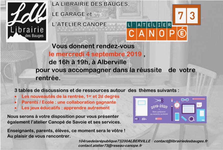 Rencontre avec les Editions Canope.