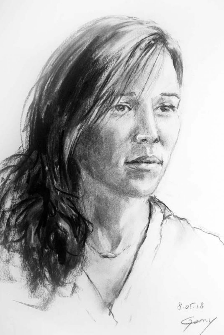 Résidence/Exposition Brigitte Gorry, artiste peintre.