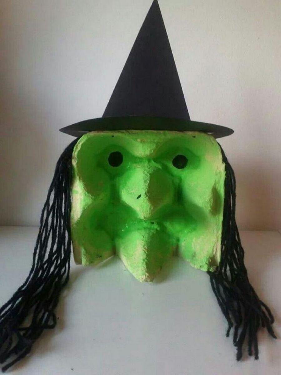 Atelier bricolage Halloween avec Sonia