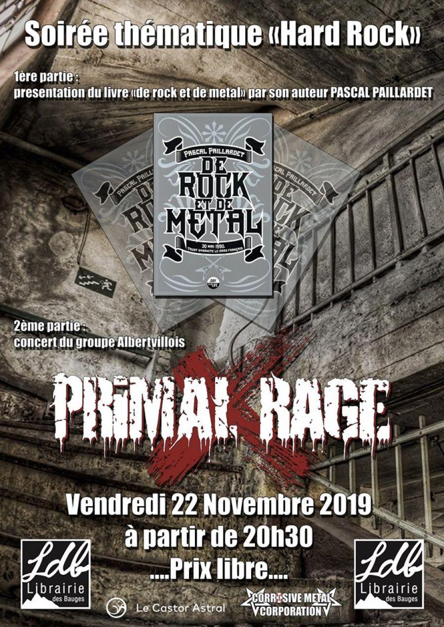 Concert métal : Primal Rage