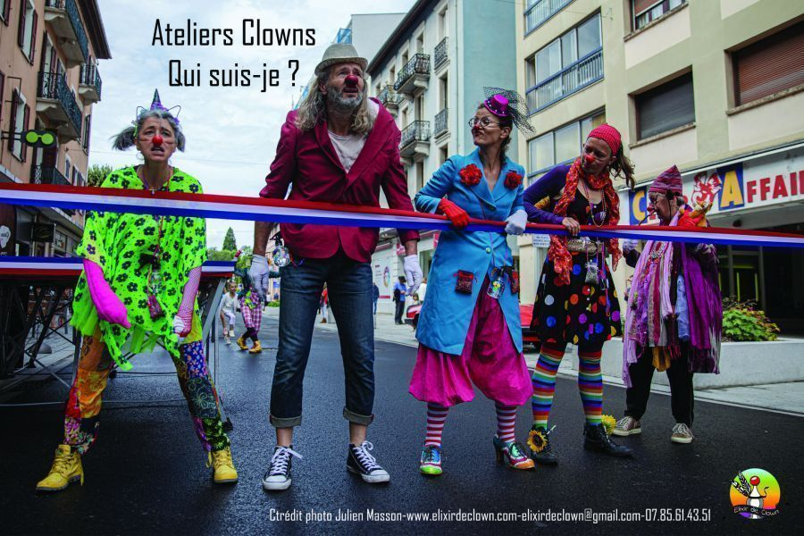 Atelier clown avec Peggy