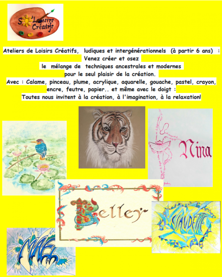 Atelier créatif - Initiation à l'aquarelle