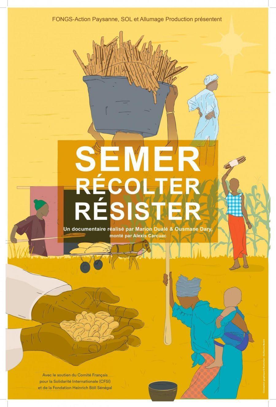 Festival du Grand Bivouac - Projection - Semer, Récolter, Résister