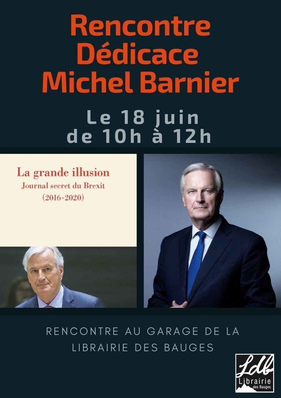 Rencontre dédicace avec Michel Barnier