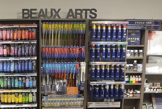 Magasin de Beaux-Arts à Albertville