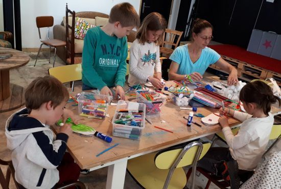 Atelier d'arts pour enfants