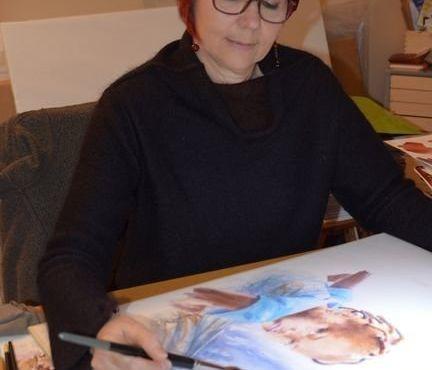 Festival du Grand Bivouac - Atelier aquarelle avec Sylvie Genty