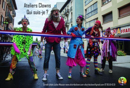 Atelier clown avec Peggy
